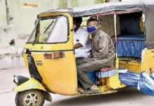 deadbody in auto rickshaw