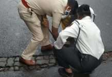 Police is giving initiative for vanishing potholes