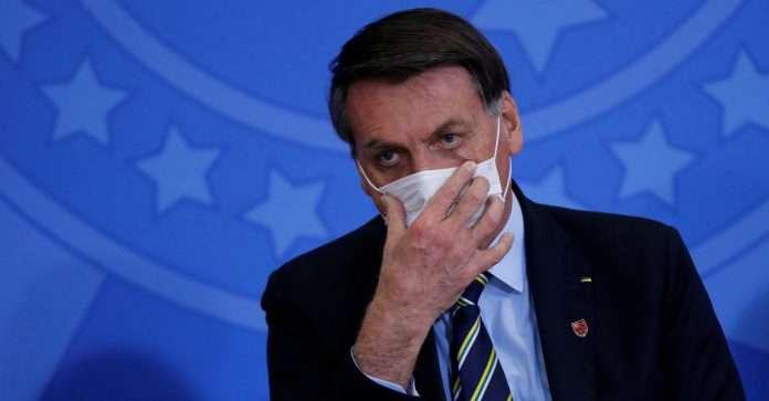 Brazil's President Bolsonaro tests positive