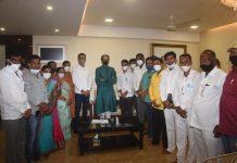 parner five corporator join shiv sena