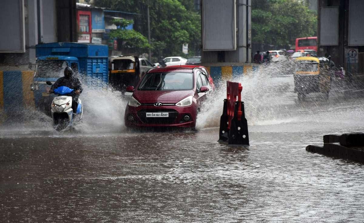 heavy rainfall