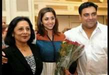 ram kapoor and mother rita kapoor