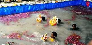 demand for artificial lakes for immersion of Ganesha in Mumbai