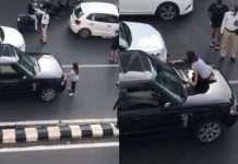 VIRAL VIDEO: Couple creates scene on Peddar Road