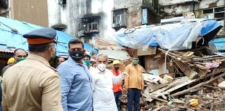 Aslam Shaikh at Nagpada Building Collapse