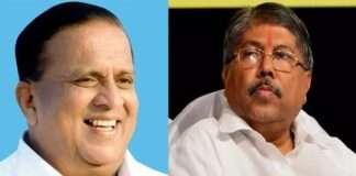 Hasan Mushrif and Chandrakant Patil