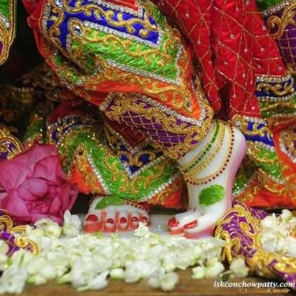 Krishna Janmashtami celebration in Radha Gopinath Iskcon Temple
