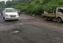 Vasai virar potholes
