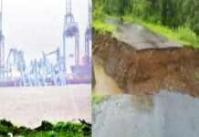 Winds blow in Raigad, flood situation in many places in Uran