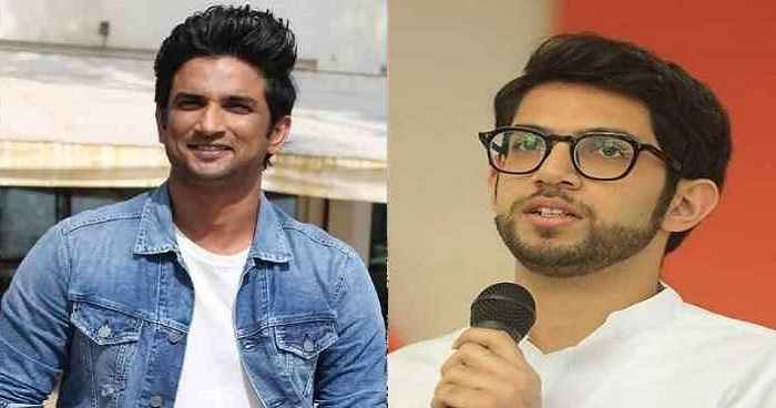 aditya thackeray finally talk about sushant singh rajput case