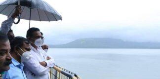 jayant patil work in prevent sangli flood
