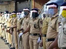 More than half of the police home quarantine at Vasind police station