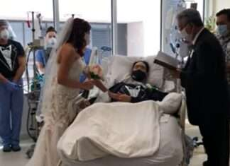 marriage in hospital after getting corona positive
