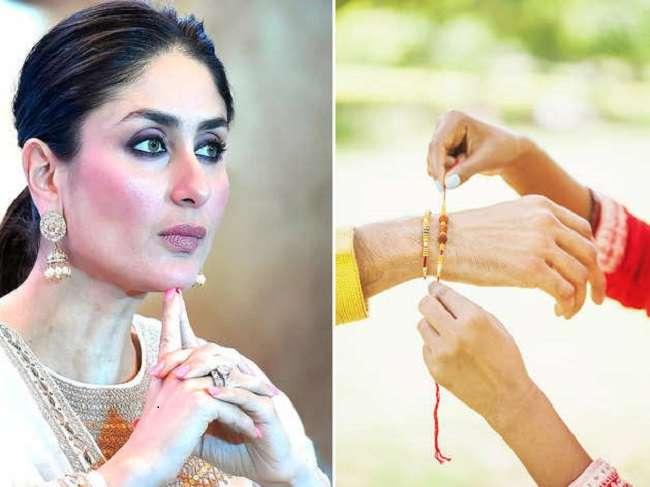movie actress kareena kapoor consider this designer as her rakhi brother always tie rakhi on raksha bandhan