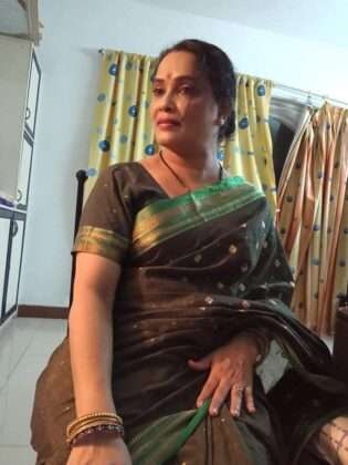 ratris khel chale 2 vacchi actress sanjivani patil saree look photo