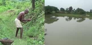 bihar man carved 3 km long canal 30 years rain water coming down hill gaya laungi bhuiyan jungle dashrath manjhi