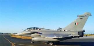 rafale fighter aircraft will include in indian air force today