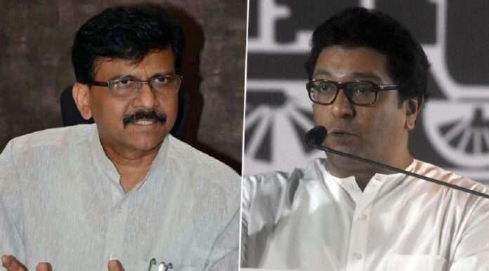 shivsena mp sanjay raut appeal to mns chief raj thackeray