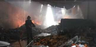 bhiwandi warehouse fire burn five warehouse