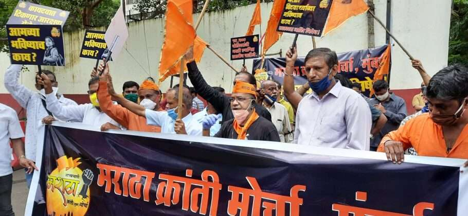 Many Shiv Sainiks were also present in this march