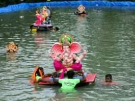 immersion of Bappa