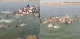 Chambal river accident A boat with 50 passengers capsized in Chambal river
