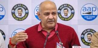 delhi deputy cm manish sisodia admitted to lnjp hospital after complaining of fever and oxygen