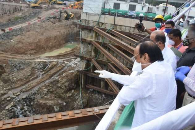 Deputy Chief Minister Ajit Pawar started his inspection tour from Phugewadi around 6 am.
