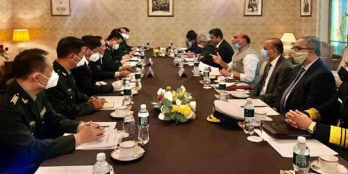 Rajnath Singh meeting with Chinese defense minister Wei Fenghe