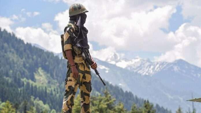 army at indian border