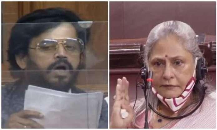 parliament monsoon session samajwadi party mp jaya bachchan bjp mp ravi kishan