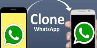 mobile whatsapp cloning