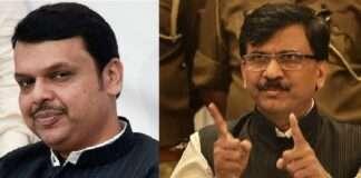 sanjay raut meets devendra fadnavis
