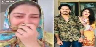 pakistani tiktok star adil rajputs wife share fake video of his death for more followers