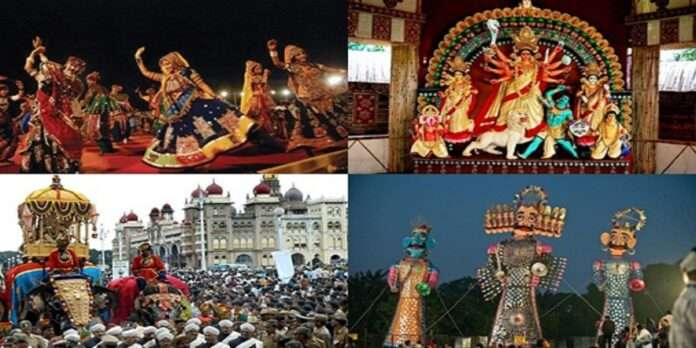 Navratra is celebrated in different states of India