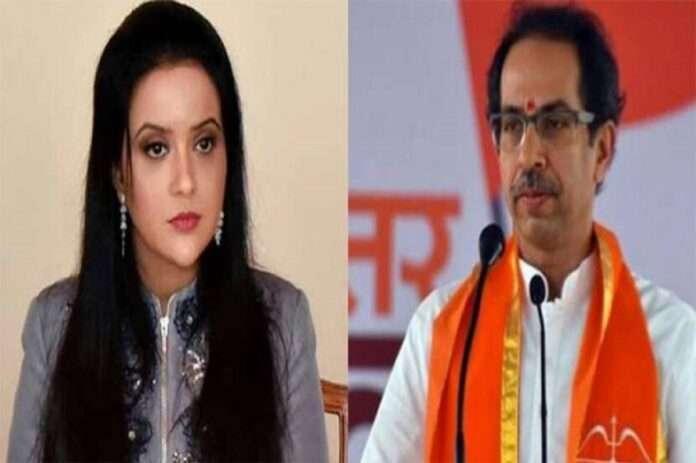 amruta fadnavis tweet on cm uddhav thackeray letter