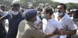 Rahul handhi hathras rape case priyanka gandhi
