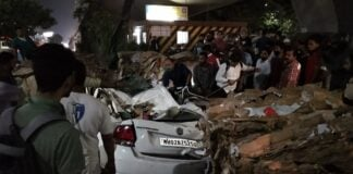 Major Accident Opp Suraj Water Park in Thane