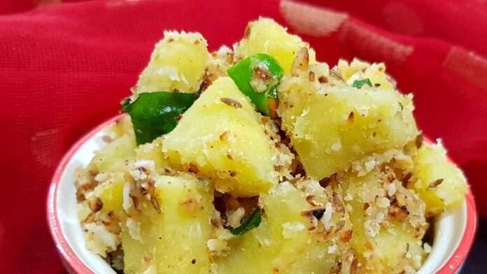 Navratri special recipe, yam vegetable