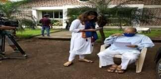 Gautami Deshpande Grandfathe marathi serial maza hoshil na