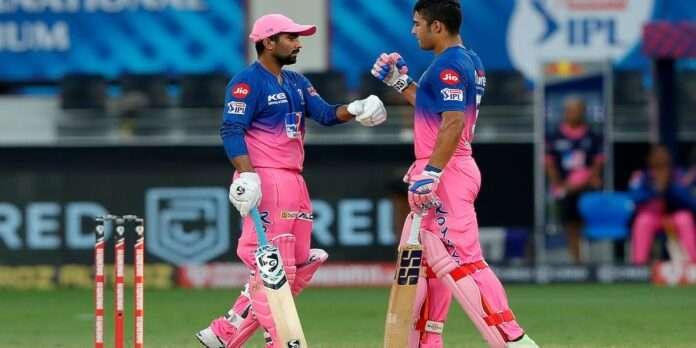 ipl 2020 rr vs srh rr won by 5 wickets