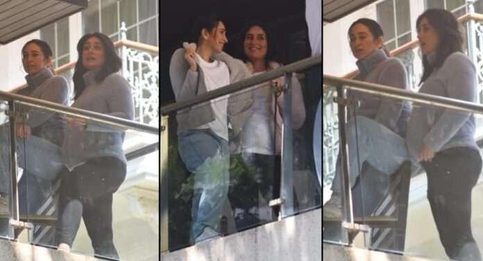 bollywood actress kareena kapoor photoshoot with baby bump karishma kapoor share video