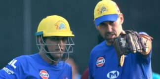 ms dhoni and fleming