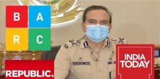 mumbai police commissioner republic india today barc