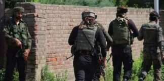 Gunfight between Occupational forces and Mujahideen in Kakpora area of pulwama