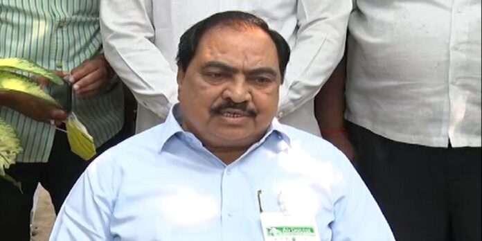 Pune Bhosari MIDC land scam NCP leader Eknath Khadse son in law Girish Chaudhari ED custody till 19th July