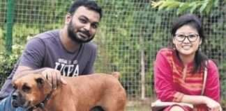 odisha couple got married arranged meal for 500 stray dogs in bhubaneswar