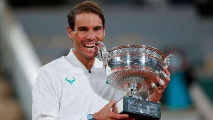 rafael nadal wins french open title grandslam