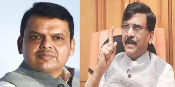 Shivsena mp sanjay raut criticized lop devendra fadnavis over cm uddhav thackeray and pm modi meet