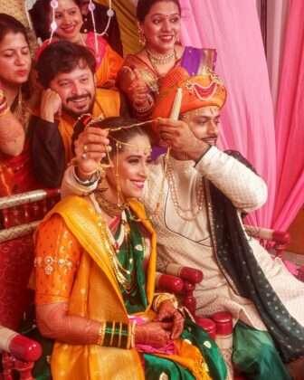 Yesterday, actress Sharmishtha Raut got engaged